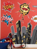 Superhero Comics Giant Wall Decals