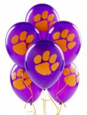 Clemson Tigers - Latex Balloons (10 count)