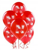 Nebraska Cornhuskers - Latex Balloons (10 count)