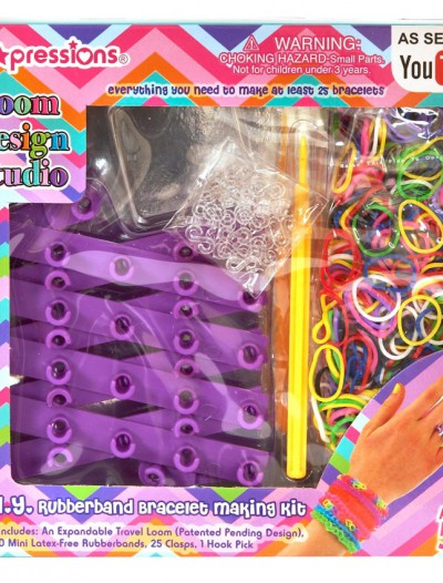 Loom Design Studio Rubber Bracelet Kit