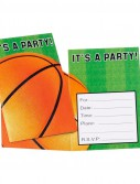 Basketball Invitations (8 count)