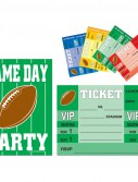Game Day Football - Invitations (8 count)