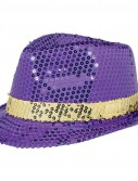 Mardi Gras Sequin Hat