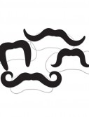 Assorted Elastic Mustaches (4 count)