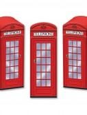 Phone Box Empty Favor Boxes (3 count)