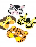 Wild Animal Foam Masks