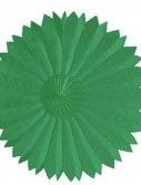 Green 10 Paper Tissue Fan