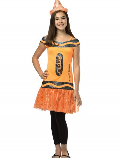 Tween Crayola Metallic Sunburst Glitz Dress