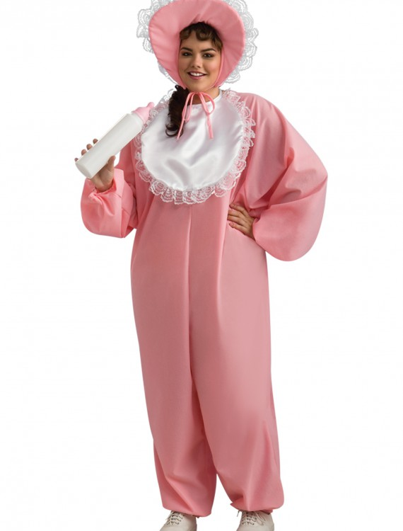 Adult Baby Girl Plus Size Costume