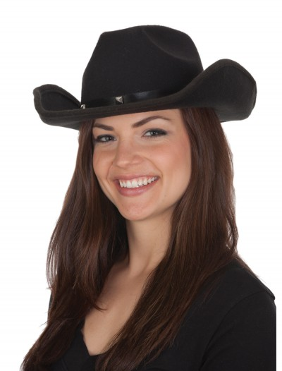 Adult Black Cowboy Hat