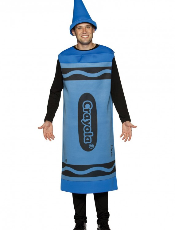 Adult Blue Crayon Costume