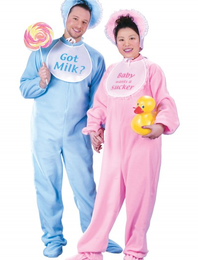 Adult Blue Pajamas Costume
