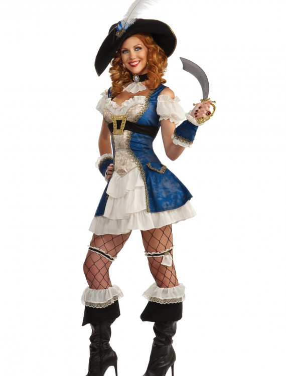 Adult Bonnie Blue Pirate Costume