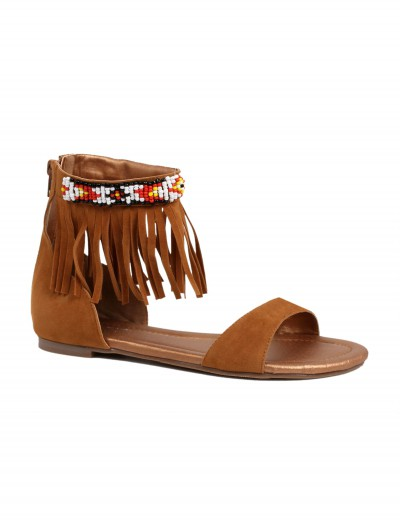 Adult Brown Indian Sandals