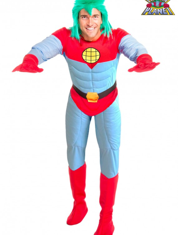 Adult Captain Planet Costume