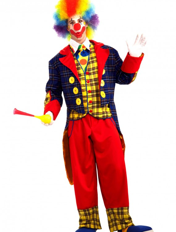 Adult Checkers the Clown Costume