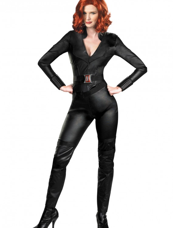 Adult Deluxe Avengers Black Widow Costume