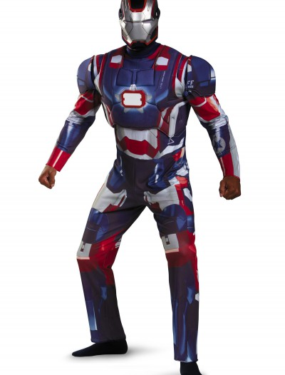 Adult Deluxe Iron Patriot Costume