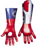 Adult Deluxe Iron Patriot Gloves