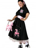 Adult Deluxe Poodle Skirt Costume