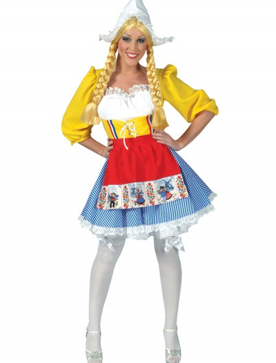 Adult Dutch Woman Costume