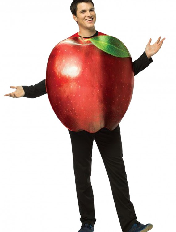 Adult Get Real Apple Costume