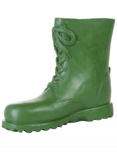 Adult Green Latex Boot Covers