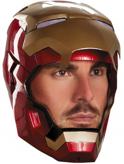 Adult Iron Man Mark 42 Helmet