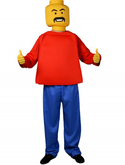Adult Mr. Blockhead Original Costume
