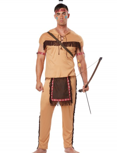 Adult Native American Brave