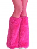 Adult Pink Furry Boot Covers