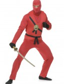 Adult Red Ninja Avengers Series I Costume