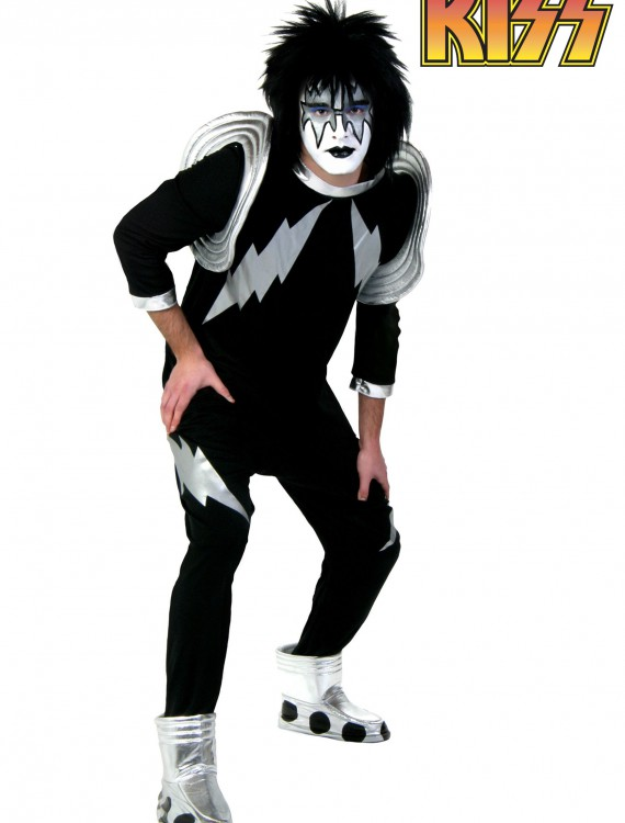 Adult Screenprint KISS Spaceman Costume