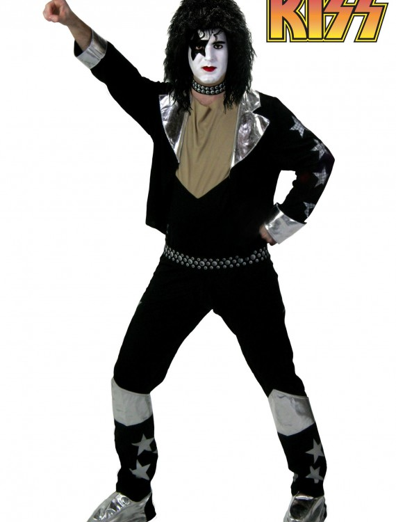 Adult Screenprint KISS Starchild Costume