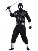Adult Silver Mirror Ninja Costume