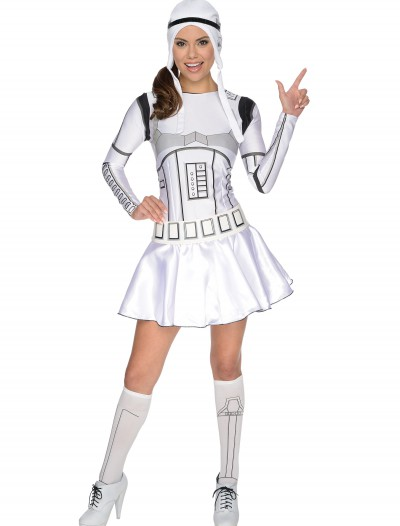 Adult Storm Trooper Dress Costume