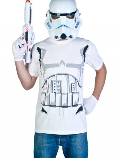 Adult Stormtrooper T-Shirt Costume