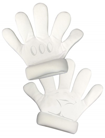 Adult Super Mario Gloves