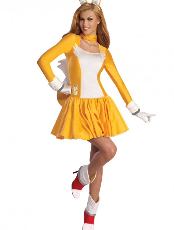 Adult Tails Dress Costume
