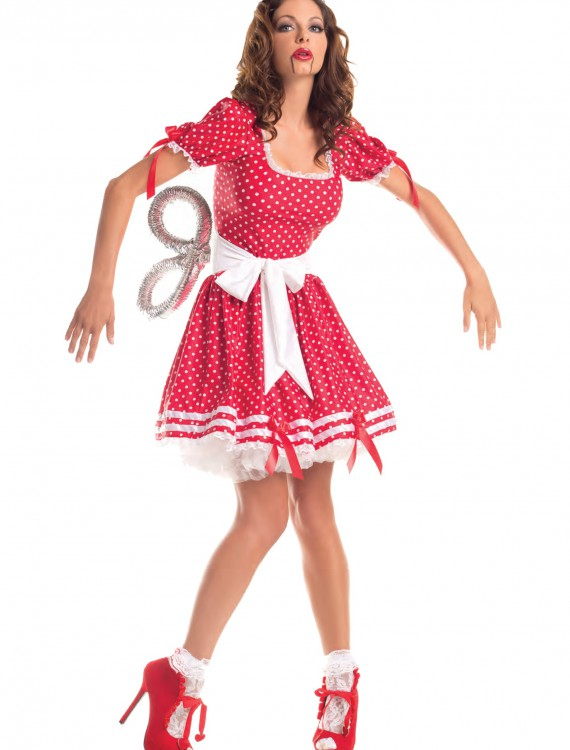 Adult Wind Up Doll Costume