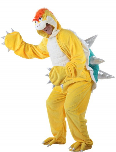 Adult Yellow Dinosaur w/ Green Shell Costume