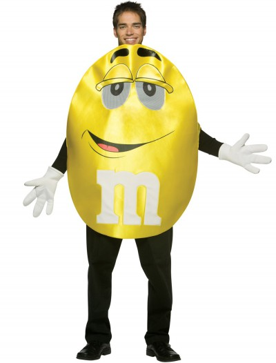 Adult Yellow M&M Costume