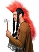 American Indian Mohawk Wig with Braids