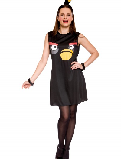 Angry Birds Adult Black Bird Tank Dress