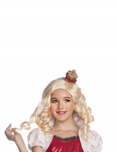 Apple White Wig w/ Headpiece