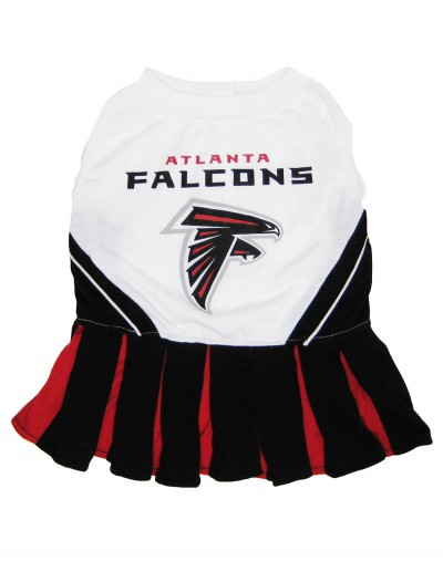 Atlanta Falcons Dog Cheerleader Outfit