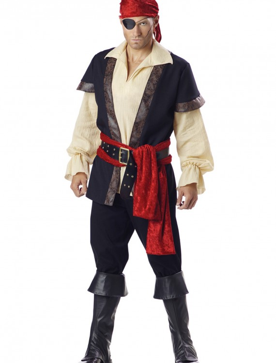 Authentic Plus Size Pirate Costume