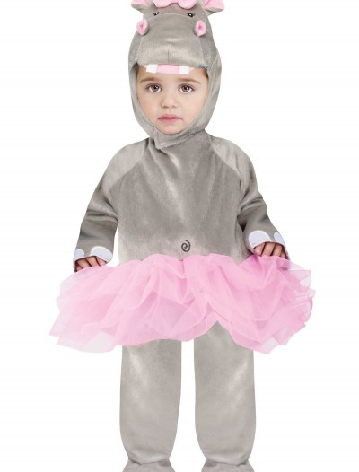 Baby Hippo Jumpsuit Costume