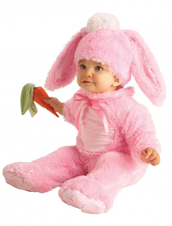 Baby Pink Bunny Costume