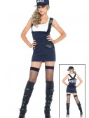 Bad Cop Police Girl Costume